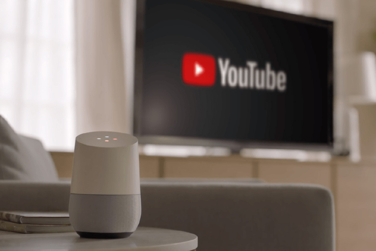 come collegare google home alla tv